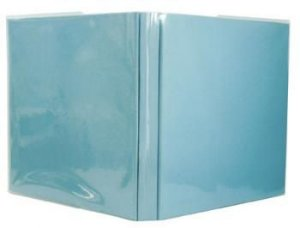 Capa plástica transparente para álbum de scrapbook 30,5 x 30,5 liso - Repeteco