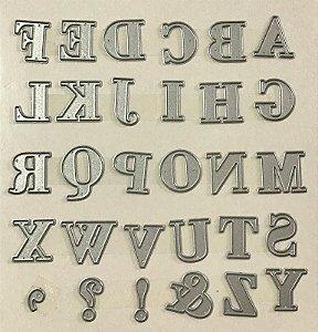 Kit de facas de corte Alfabeto Maiúsculo - Sunlit