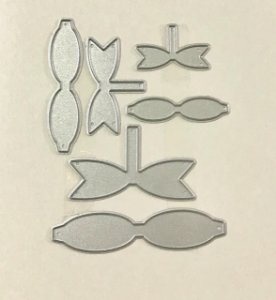 Kit de facas de corte para montar Laços - Sunlit