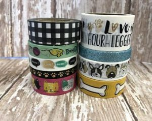 Washi Tape Cats and Dogs - 09 rolos - Love Nicole