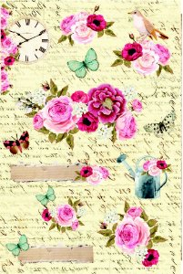 Adesivos Jardim das Borboletas - Linha Minhas Memórias - Dany Peres