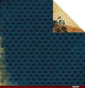Papel para scrapbook 30x30 - Coleção Família para sempre - Coleção de Memórias - Juju Scrapbook
