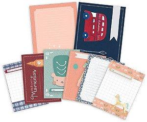 Kit de cards Melhores Momentos - Coleção Mundo Mágico - Juju Scrapbook