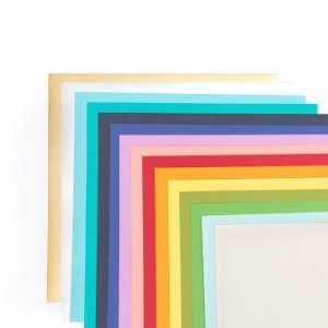 Bloco 30x30 Cardstock coloridos - 48 folhas - Diy Party - We R
