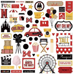 Adesivo 30x30 A Day at the Park - Disney - Photoplay