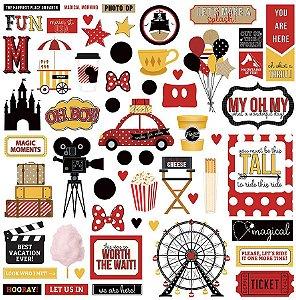 Adesivo 30x30 A Day at the Park - Disney - Photoplay