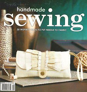 Revista Scrapbook (Costura) 20x20 - Inglês