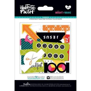 Die Cuts - Bright and Brave -  Abas - Illustrates Faith