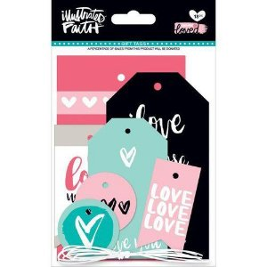 Die Cuts Tags - Loved - Illustrates Faith