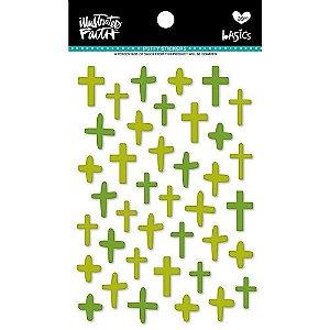 Adesivo Puffy - Olive You - Illustrates Faith