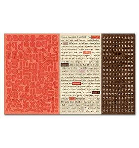 Cartela de adesivo 20x30 - Carefree - Authentique