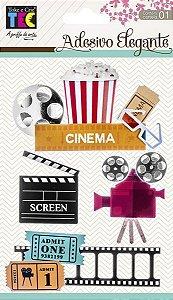 Adesivo Elegante - Cinema - TEC