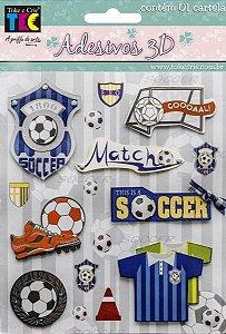 Adesivo 3D - Futebol - TEC