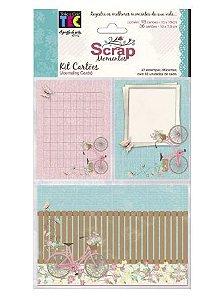 Kit de cards para Scrap Momentos Marshmallow - Toke e Crie