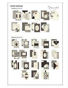 Kit de cards para Scrap Momentos Celebrate - Toke e Crie