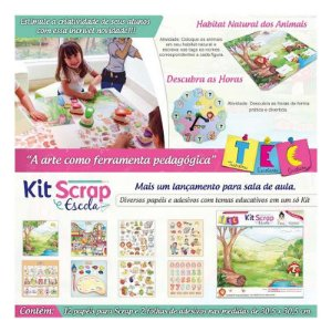 Kit Scrap e Escola - TEC