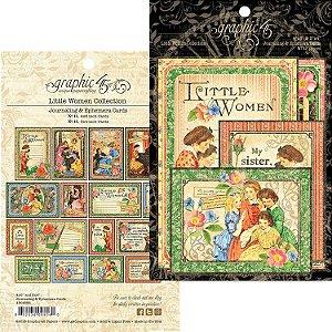Die Cuts Little Women - Journaling & Ephemera Cards - Graphic 45
