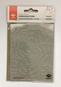 Placa de emboss - Costela de Adão - Sunlit