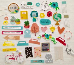 Die Cuts - Rise and Shine- Bible Journaling - Studio Baunilha