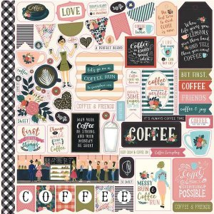 Adesivo 30x30 - Coffee - Echo Park