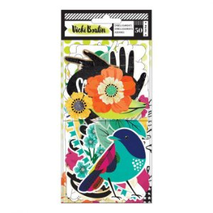 Die Cuts - Color Kaleidoscope - Vicki Boutin - American Crafts