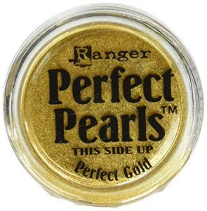 Perfect pearls - Pigmento em pó - Perfect Gold - Dourado - Ranger