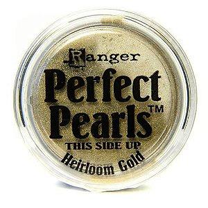 Perfect pearls - Pigmento em pó - Heirloom Gold - Dourado - Ranger