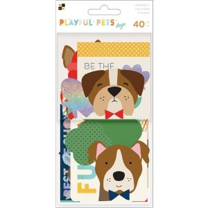 Die Cuts - Playful Pets Dogs - DCWV