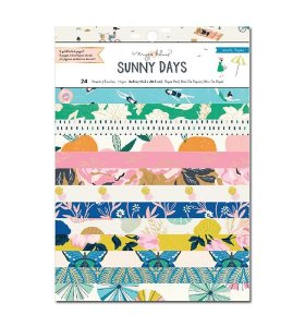 Bloco de papel 15x20 - Sunny Days - Maggie Holmes - Crate Paper