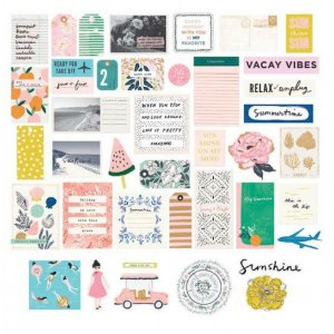 Die Cuts - Sunny Days - Maggie Holmes - Crate Paper