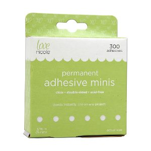 Glue dots 5mm - Adesivos minis - Love Nicole
