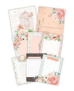 Kit de cards Aurora - Shabby Dreams - Juju Scrapbook