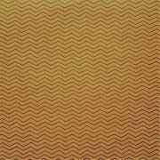 Papel para Scrapbook - Face Simples  - Hand Draw Kraft - Chevron/ZigZag  G - Papelero