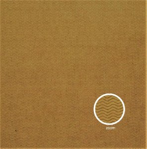 Papel para Scrapbook - Face Simples - Hand Draw Kraft - Ondulado/Waved P - Papelero