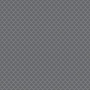 Papel para Scrapbook - Dupla Face - Pattern - India Chumbo - Papelero