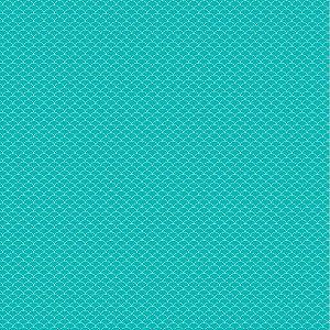 Papel para Scrapbook -  Dupla Face  - Pattern - Bubble Piscina - Papelero