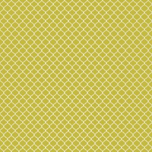 Papel para Scrapbook - Dupla Face - Pattern - India Gold - Papelero