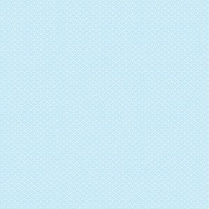 Papel para Scrapook - Dupla Face - Pattern - Bubble Céu - Papelero