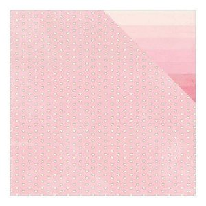Papel scrapbook 30x30 Adore - Blushing - Authentique