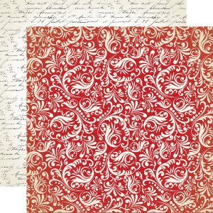 Papel scrapbook 30x30 Amour - Tender Hearted - Amor - Carta Bella