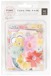 Die Cuts - Turn The Page - Pink Paislee