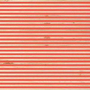 Papel scrapbook 30x30 My Essentials - Vermelho - My Memories Crafts