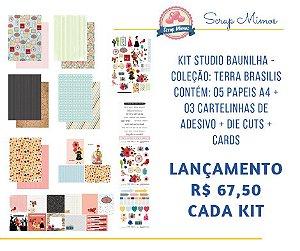 Kit coleção Terra Brasilis - Studio Baunilha