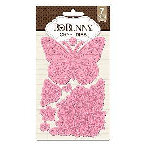 Faca de Corte - Butterfly Garden Dies -  Bobunny