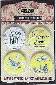 Bottons - Baby Boy - Arte Fácil
