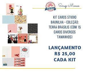 Kit de Cards - Coleção Terra Brasilis - Studio Baunilha