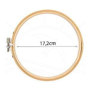 Bastidor de madeira (bambu) 17,2 cm (com tarraxa)