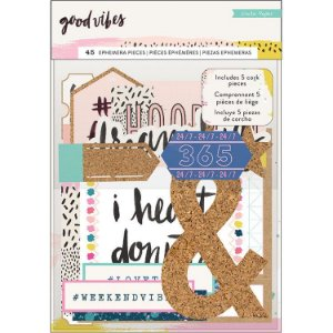 Die Cuts - Good Vibes - Crate Paper