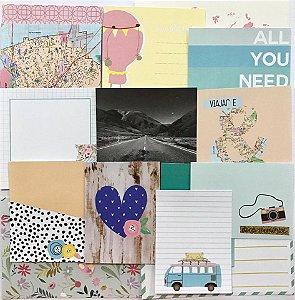 Cards - Viajar é Preciso - Studio Baunilha