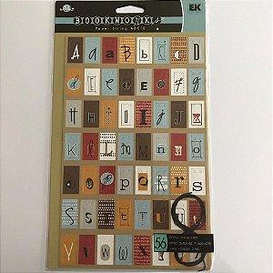 Die Cuts - Alfa - Bookwork - Ek Sucess